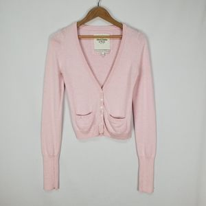 Abercrombie & Fitch cashmere blend cardigan
